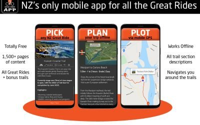 Discover the Great Rides App